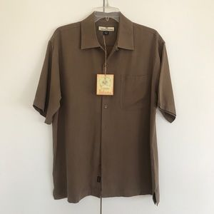 Tommy Bahama Men's Silk Shirt Medium New